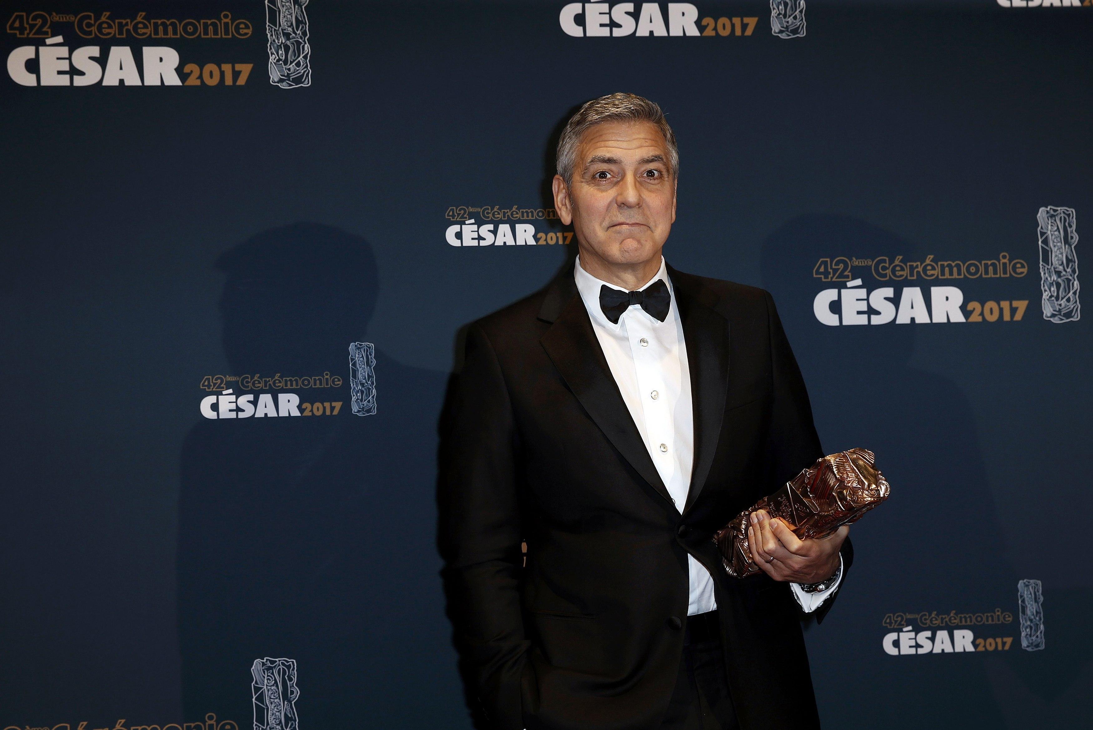 Джордж Клуни получил премию «Сезар» зазаслуги перед кинематографом