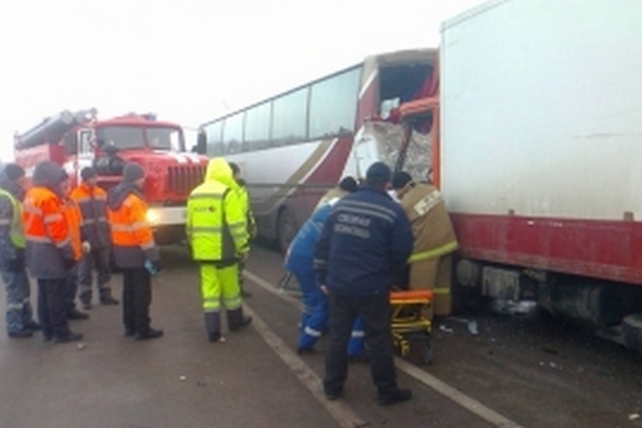 Автобус сбеженцами из«ЛДНР» попал вДТП в Российской Федерации, есть пострадавшие