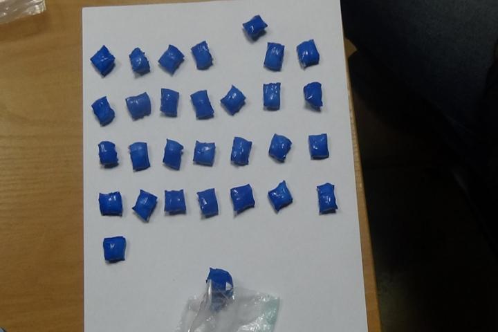 ВКурске задержали москвича сдизайнерскими наркотиками