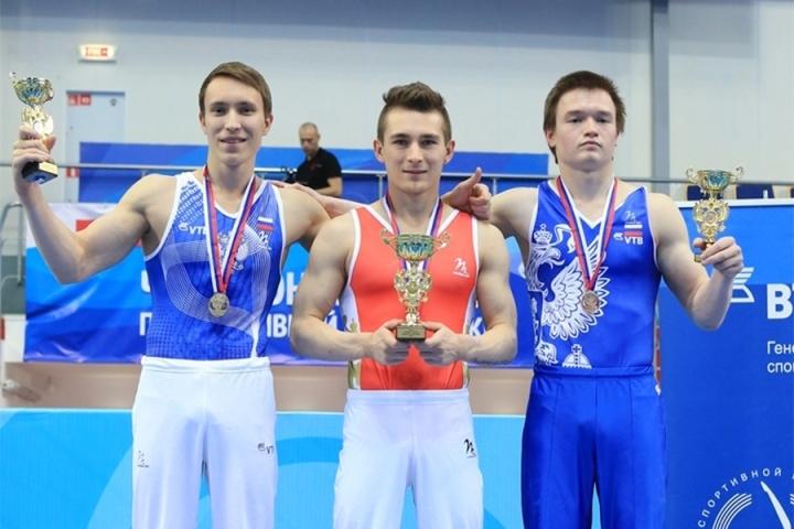 Гимнаст Давид Белявский завоевал два золота начемпионате Российской Федерации