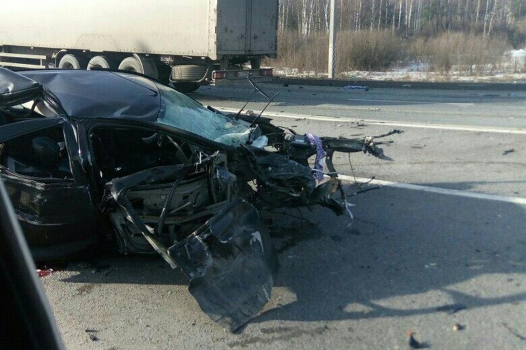 Ужасная авария нафедеральной трассе вПетушинском районе