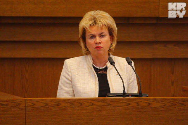 Марианна Щеткина руководит штабом Александра Лукашенко. Фото: Дмитрий БРУШКО