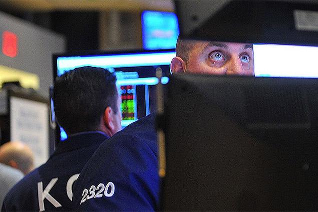 На фондовом рынке США — сильнейший обвал за сто с лишним лет Фото: Евгения ГУСЕВА