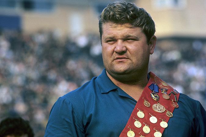 Олимпийский чемпион по тяжелой атлетике Леонид Жаботинский, 1967 год. Фото: РИА Новости