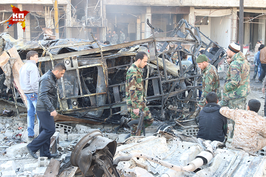 Крупный теракт в Дамаске устроили к переговорам в Женеве? Фото: Александр КОЦ, Дмитрий СТЕШИН