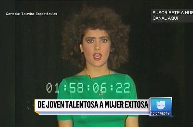 . «Мне 20, и у меня нет опыта», - сказала тогда Сальма на камеру по-испански. Фото: кадр с видео