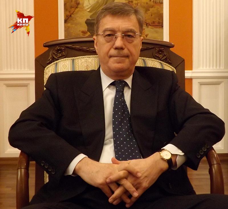 Чрезвычайный и Полномочный Посол Российской Федерации в Азербайджанской Республике Владимир Дорохин Фото: Равиль ЗАРИПОВ