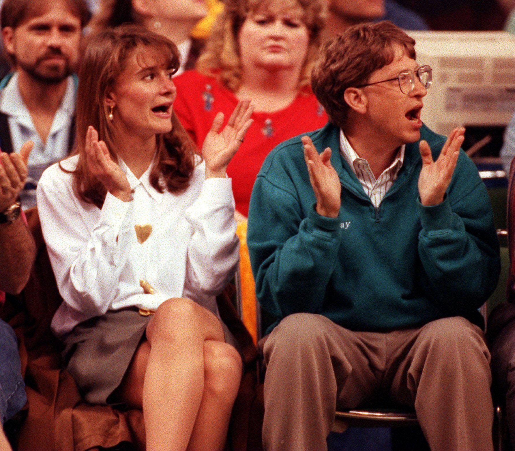 Мелинда и Билл Гейтс в 1993 году, на одном из первых свиданий. Фото: GLOBAL LOOK PRESS