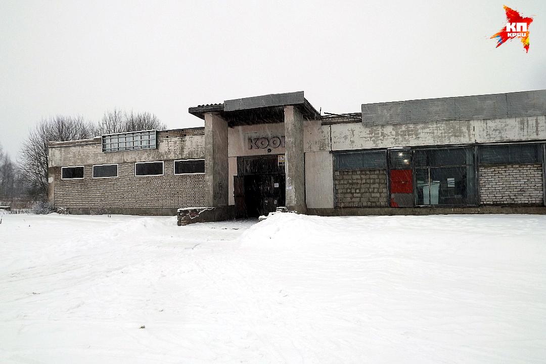 Сельский магазин в центре Есиновичей. Фото: Василий ХОДАРЕВ