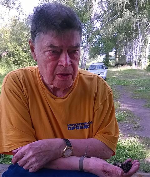 Борис Панкин в родном Сердобске (Пензенская область), июнь 2014. Фото: личный архив