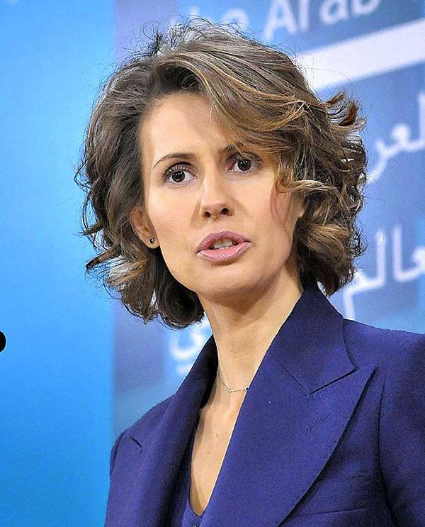 Асма Асад Фото: EASTNEWS/AFP