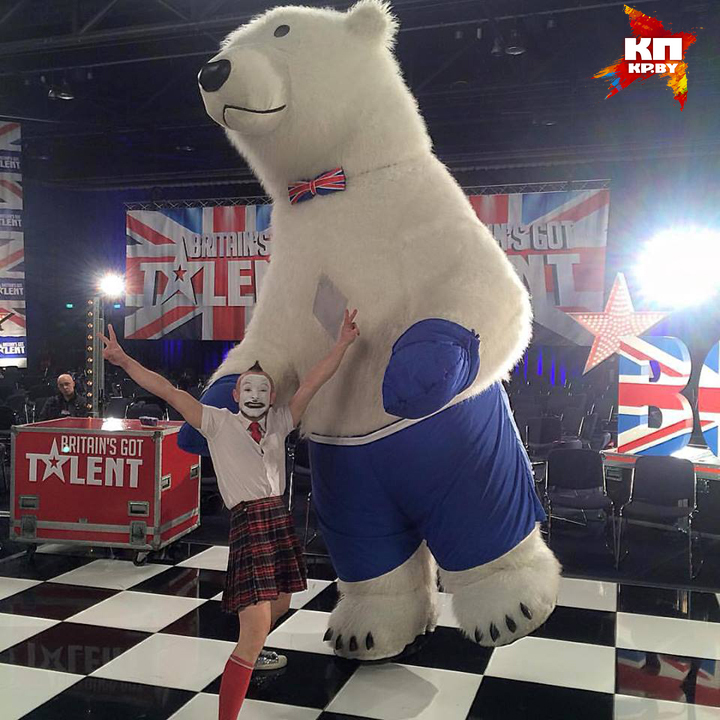 Vadik missile with a polar bear has reached the semifinals of the show. Photo: personal archive