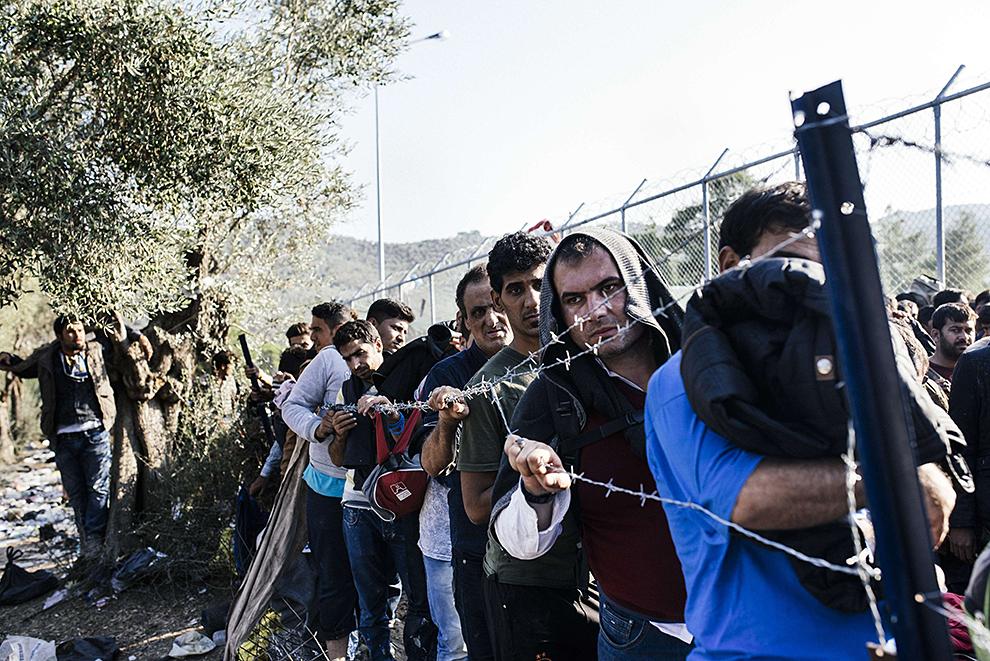 B ближайшие 35 лет в Европу могут переселиться 250 млн. мигрантов Фото: EASTNEWS/AFP