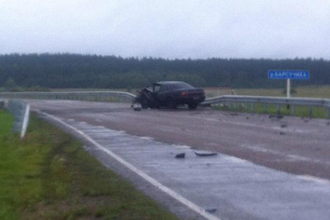 Под Барнаулом натрассе вДТП умер пассажир Тоёта Camry