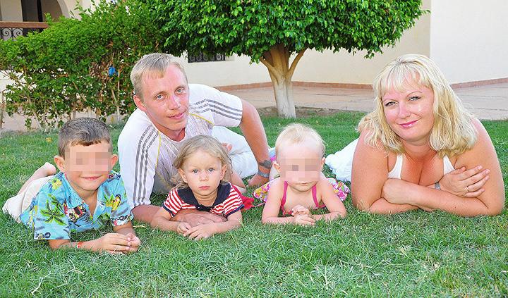 В семье Черниковых было трое детей. Фото: Личная страничка героя публикации в соцсети