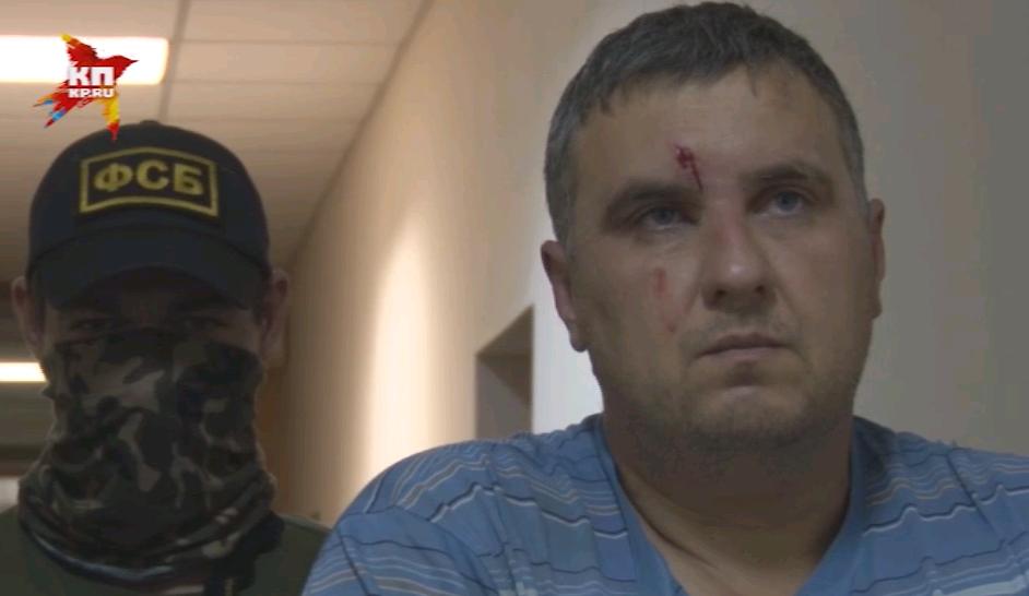 Задержанный оперативниками ФСБ украинец Евгений Панов.