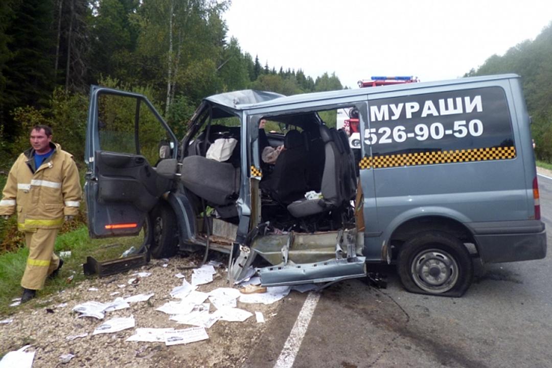 ВКировской области вДТП натрассе «Вятка» погибли сразу шесть человек