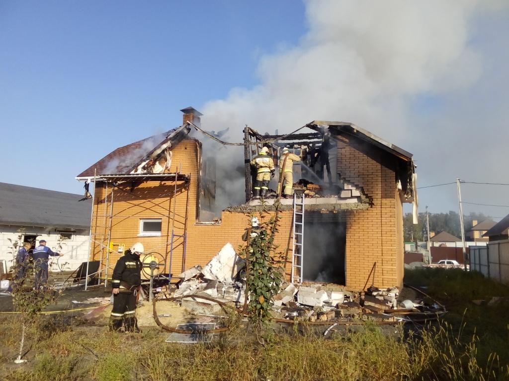 ВСтаром Осколе произошёл взрыв бытового газа вжилом доме