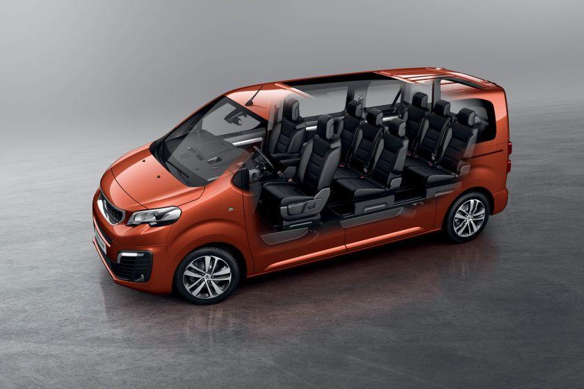 Помимо Peugeot Traveller в России будет продаваться и Citroen Jumpy. А вот аналогичная Toyota Proace – вряд ли