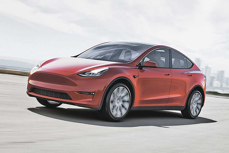 Model Y красного цвета стал миллионным автомобилем Tesla. Фото: tesla.com