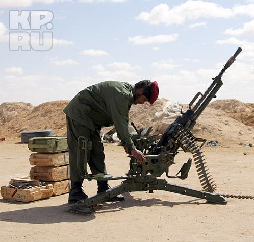 Если бы  у ливийской армии было современное российское оружие,  операция НАТО могла пойти по другому сценарию Фото: Вадим ШЕРСТЕНИКИН