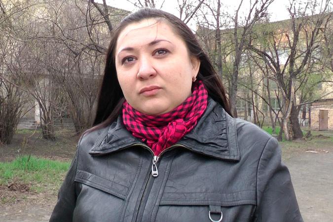 Ирина Зинкевич готова взять ипотеку, чтобы ребенок учился в хорошей школе Фото: Станислав КАРПОВИЧ