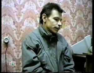 Оперативная съемка: Александр Спесивцев на допросе.