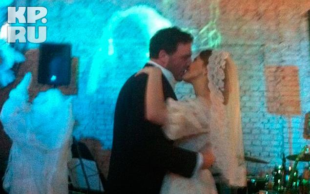 Танец новобрачных - Ксении Собчак и Максима Виторгана.