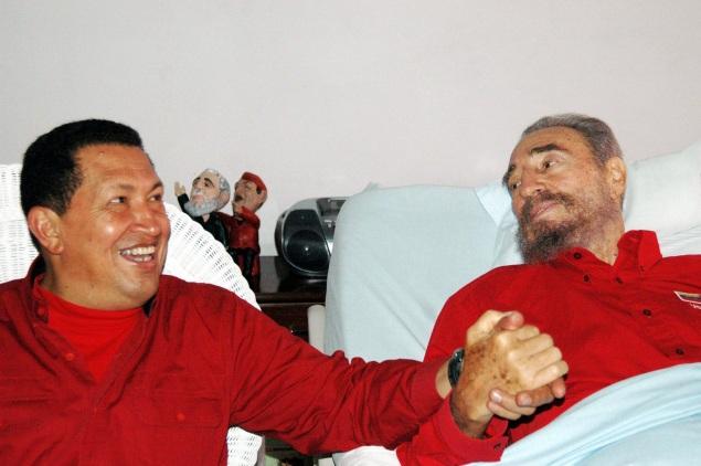 Вместе с Фиделем Кастро Фото: REUTERS