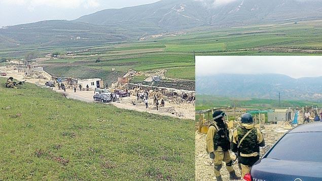 Освобождение невольников в Левашинском районе Дагестана проходило с привлечением спецназа под прикрытием пулеметчиков.