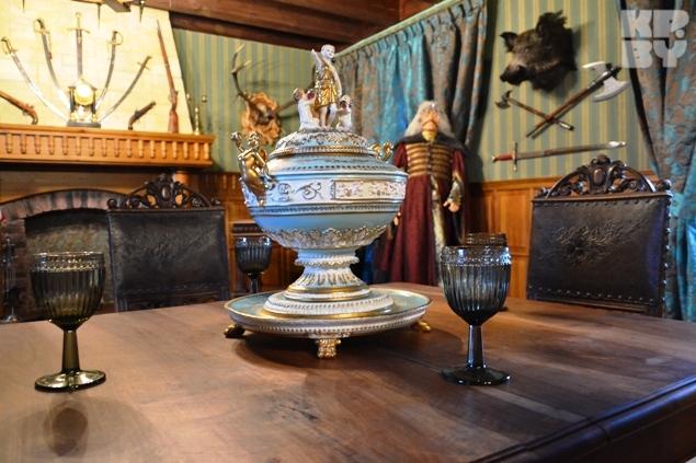 В музее можно увидеть интерьеры, в которых жили магнаты