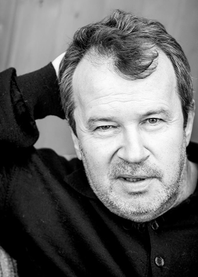 Русский писатель и словацкий политик Сергей Хелемендик