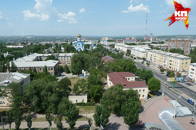 Луганск в ожидании авианалетов и артобстрелов со стороны карателей
