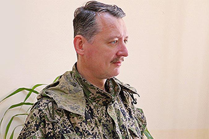 Командующий ополчением ДНР Игорь Стрелков Фото: Александр КОЦ, Дмитрий СТЕШИН