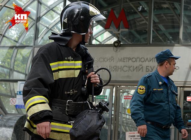 Пока движение поездов на участке от «Киевской» до «Молодежной» остановлено Фото: РИА Новости