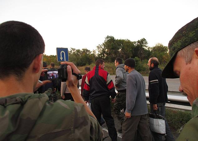 Вчера был обмен пленных. 38 на 35 Фото: СОЦСЕТИ
