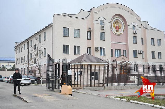 А из этого здания ФСКН в Магасе его забрали сотрудники ФСБ. Фото: Евгения ГУСЕВА