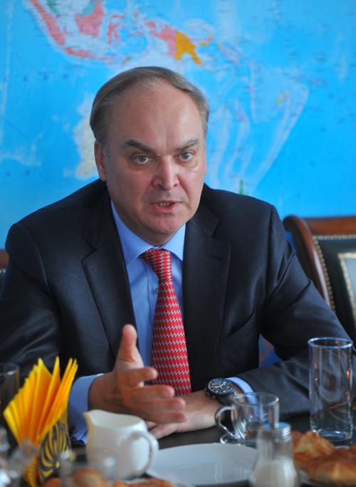 Заместитель Министра обороны Российской Федерации Анатолий Антонов. Фото: Евгения ГУСЕВА