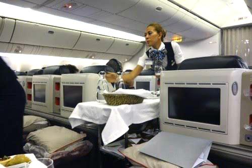 Лететь бизнес-классом на самолете Турецких Авиалиний - сплошное удовольствие