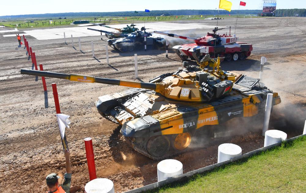 Танковый биатлон в Алабино 28 августа 2021: прямая онлайн-трансляция