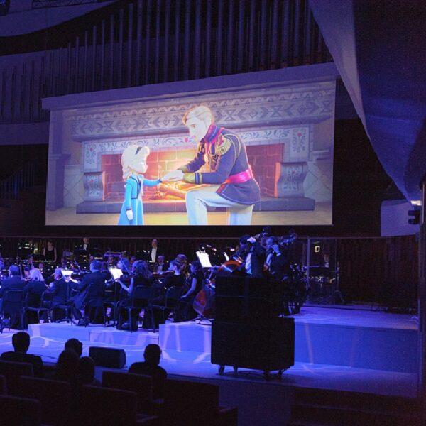 Киноконцерт «Холодное сердце» в Зарядье
