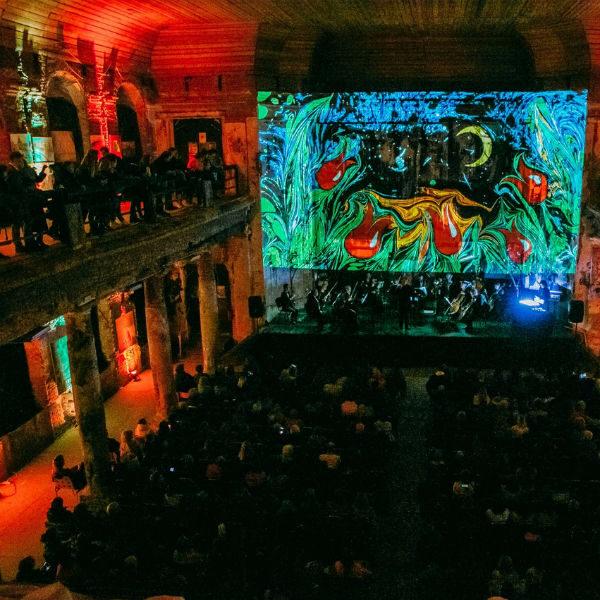 Концерт «Моцарт. Музыка в красках» в Аннекирхе