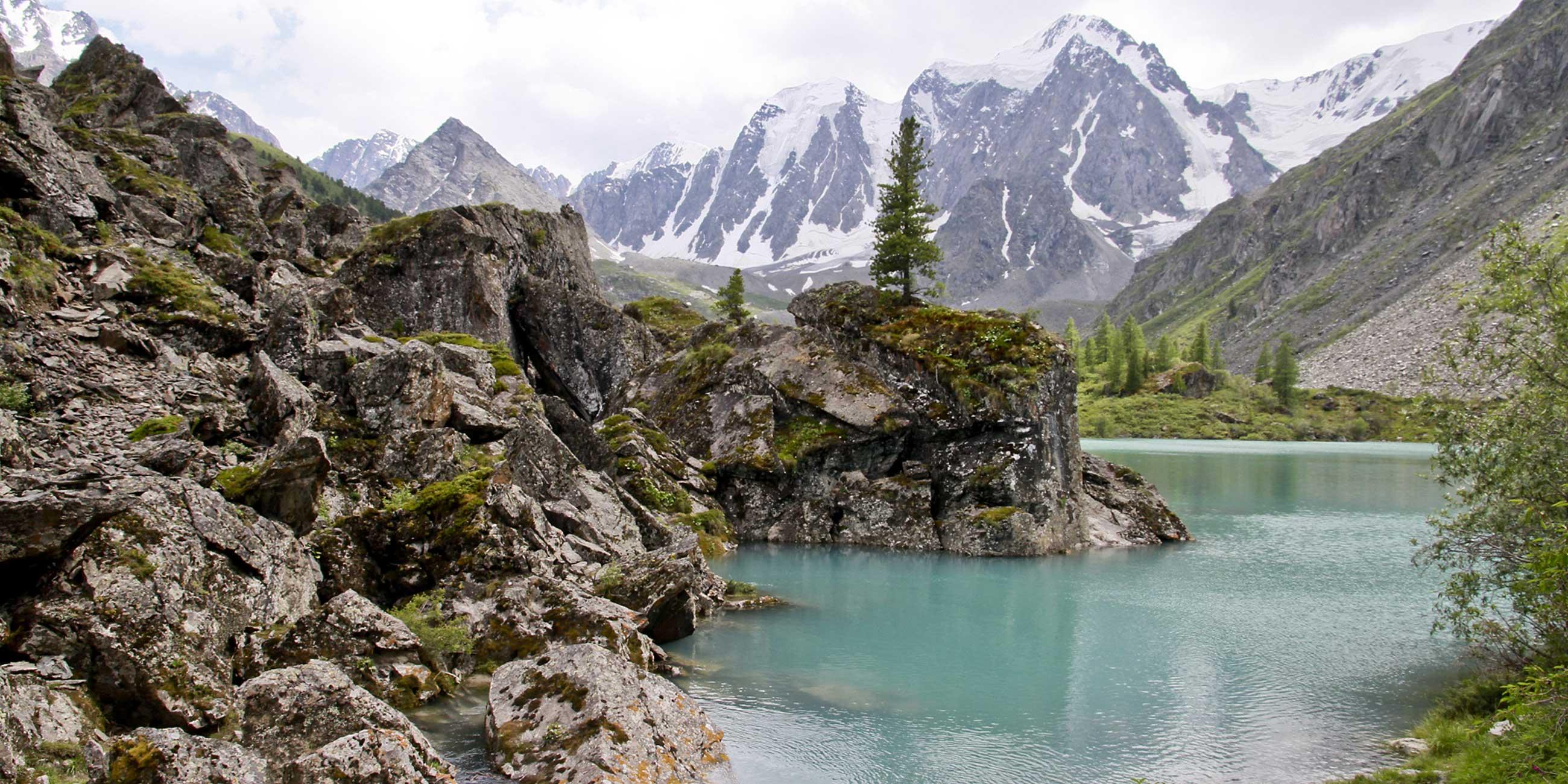 Озеро Верхнее Шавло на Северо-Чуйском хребте