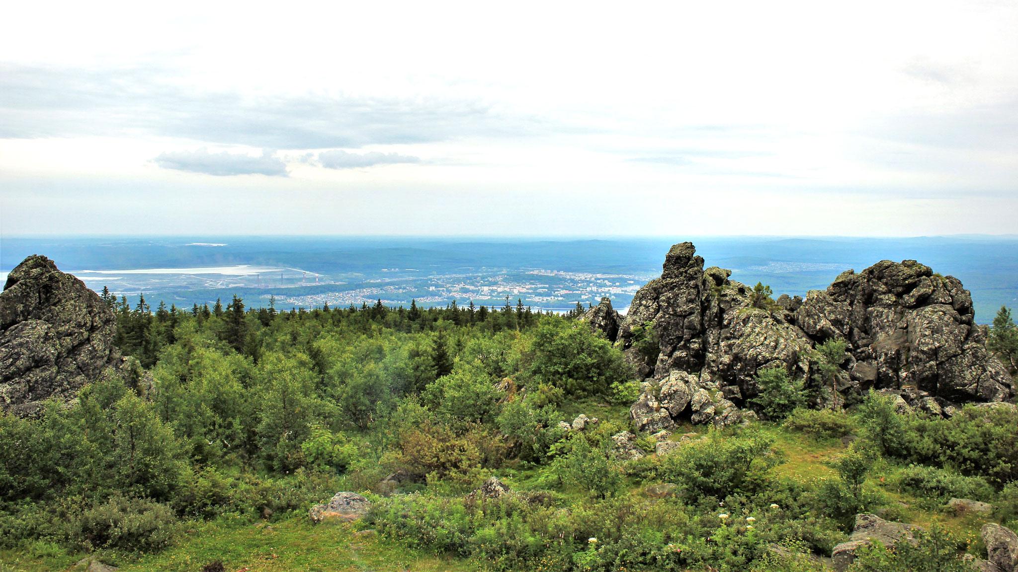 Уральские горы фото на карте