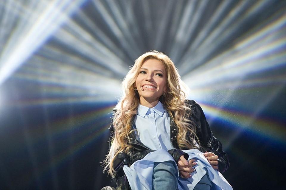 Участница Евровидения 2017 Юлия Самойлова. Фото: Максим Ли - Первый канал