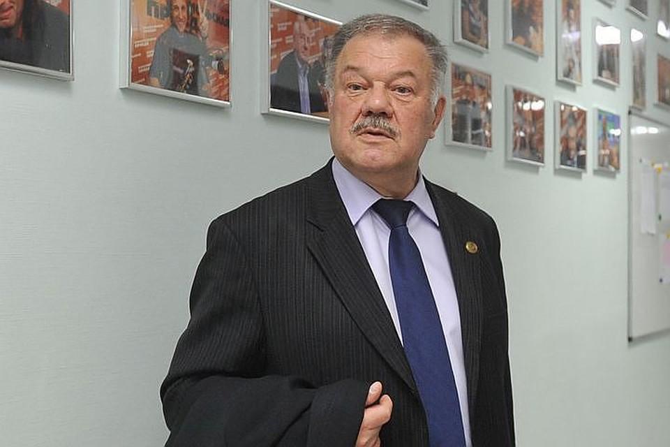 """Политический обозреватель """"Комсомольской правды"""" Александр Гамов."""