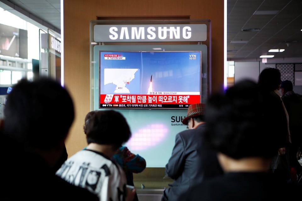 Все граждане КНДР внимательно следили за запуском ракеты