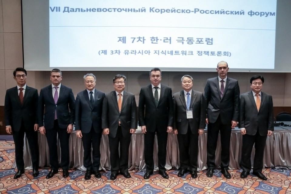Корейские партнеры заинтересовались возможностями поддержки бизнеса в Приморье. Фото: Олег БЕЛОВ.