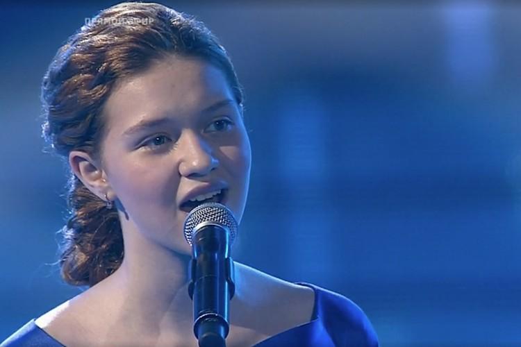 Лиза практически идеально спела «Молитву» Людмилы Гурченко