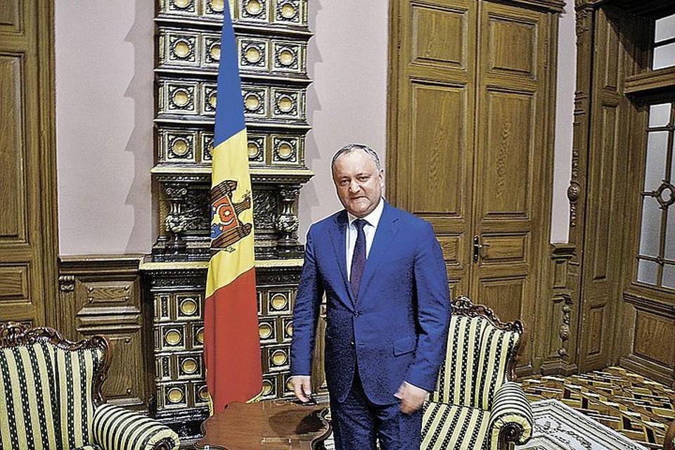 Игорь Додон: «Молдова обречена дружить со всеми»